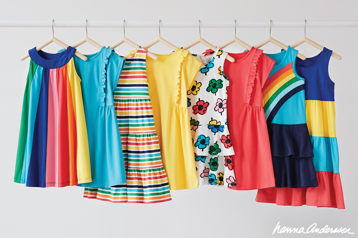 PLAY. SWIM. SLEEP. A RAINBOW OF NEW HANNAS!